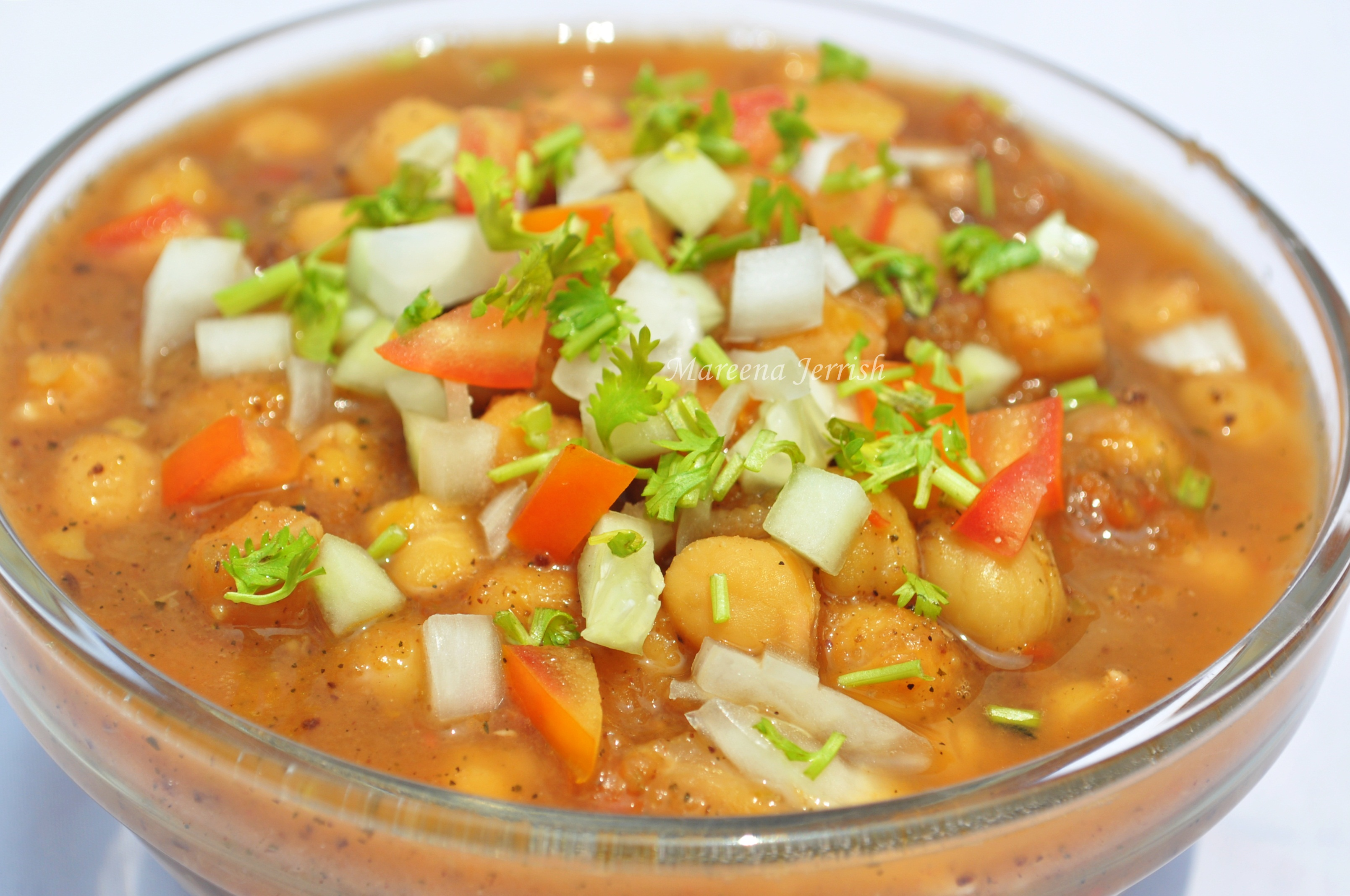 Choley (Spicy Chickpeas Curry) | Mareena's Recipe Collections