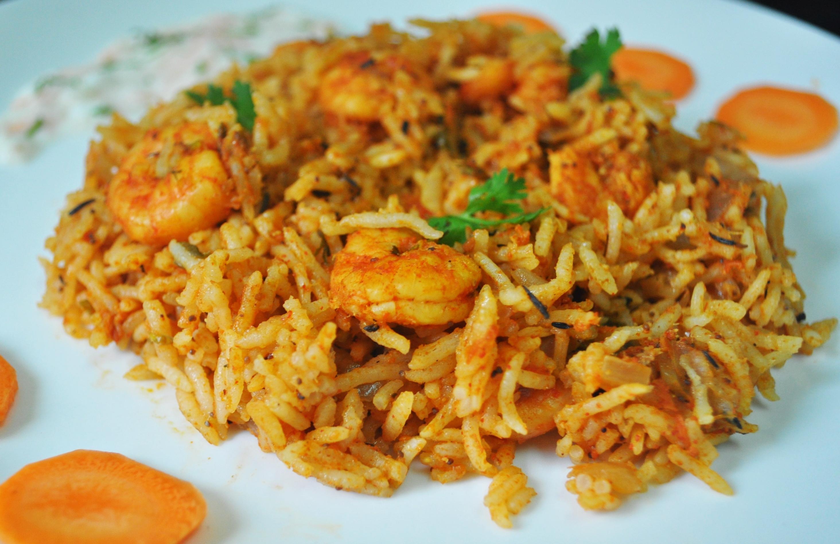 ... Prawn Biryani Recipe Biryani Recipe Images Rice Pics Chicken Recipe In